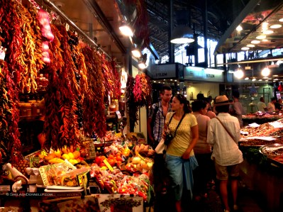 La Boqueria Barcelona 6087 Copyright Shelagh Donnelly