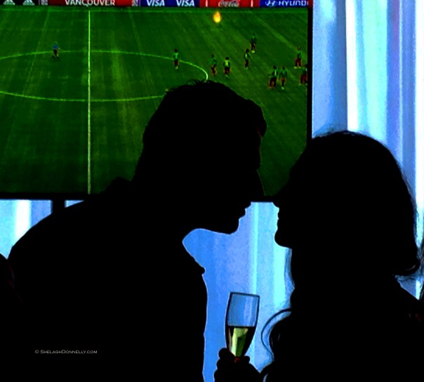Romance at the Match 9803 Copyright Shelagh Donnelly