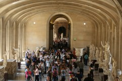 Louvre on Bastille Day 9977 Copyright Shelagh Donnelly