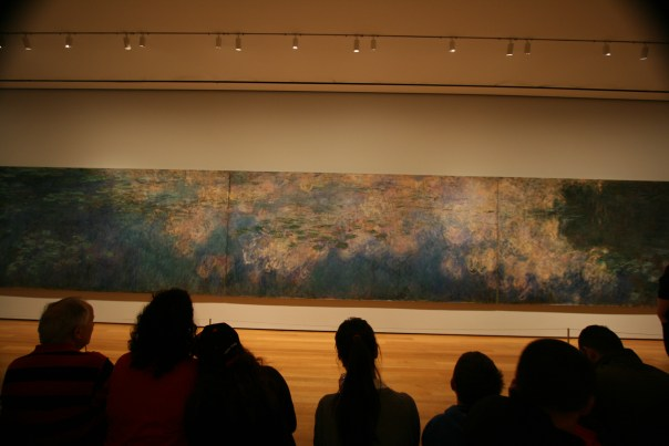 Monet at MOMA, NYC 6112 Copyright Shelagh Donnelly