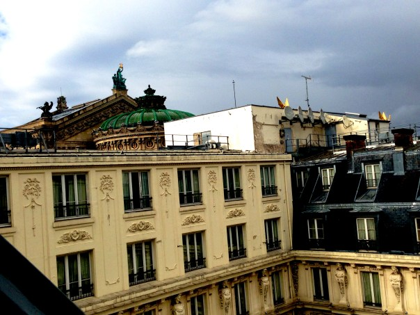 Palais Garnier View from Room Paris Le Grand 7857 Copyright Shelagh Donnelly