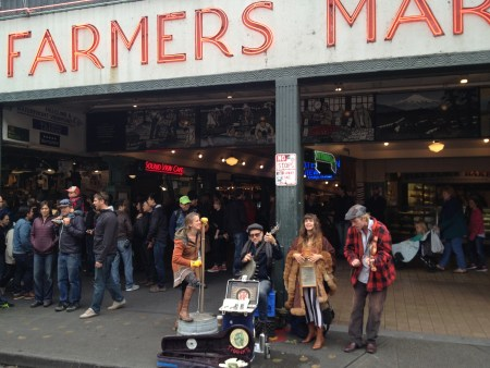 Pike Place Market Musicians Copyright Shelagh Donnelly