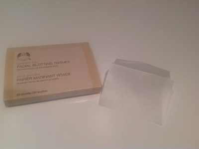 Facial Blotting Tissues