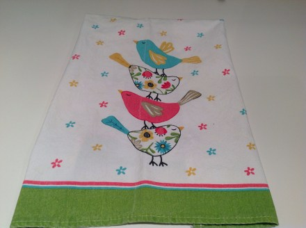 Chirpy Tea Towel Copyright Shelagh Donnelly
