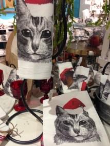 Cats Tea Towel Copyright Shelagh Donnelly