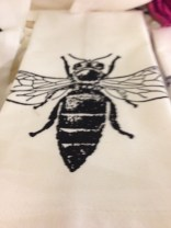 Bee Tea Towel Copyright Shelagh Donnelly