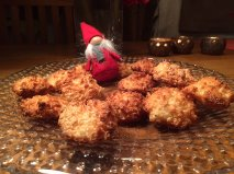 Norwegian Coconut Macaroons - Julia