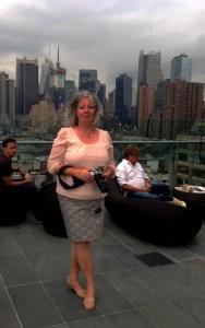 Shelagh at The Press Lounge, Ink 48, Manhattan
