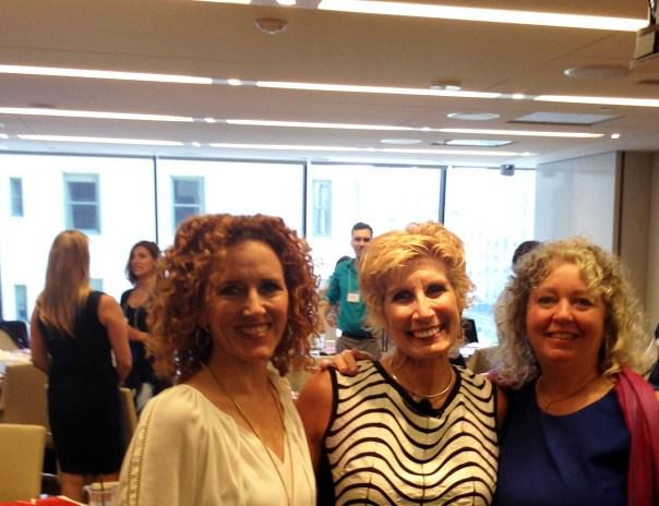 Vickie Sokol Evans, Bonnie Low-Kramen, Shelagh Donnelly NYC 9129 July 2016