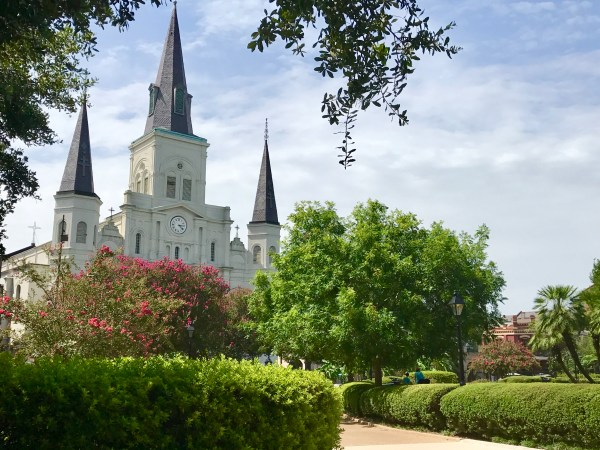 St. Louis Cathedral - French Quarter - Jackson-Square-New-Orleans-Copyright-Shelagh-Donnelly-18-7097