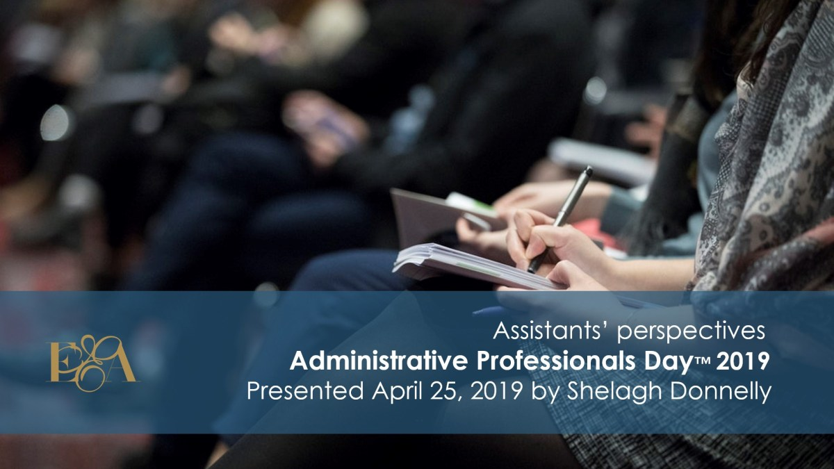 Weekend Poll Results: Admin Professionals Day™