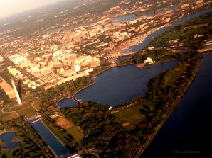 Above DC's Memorials Copyright Shelagh Donnelly
