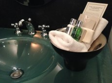 Le Hotel Germain Toiletries Copyright Shelagh Donnelly