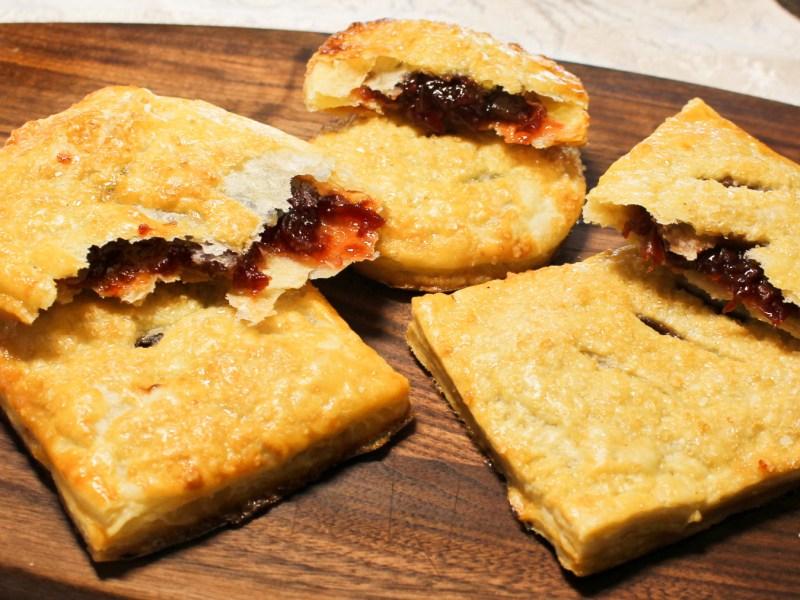 Cherry Hand Pies with homemade pie crust
