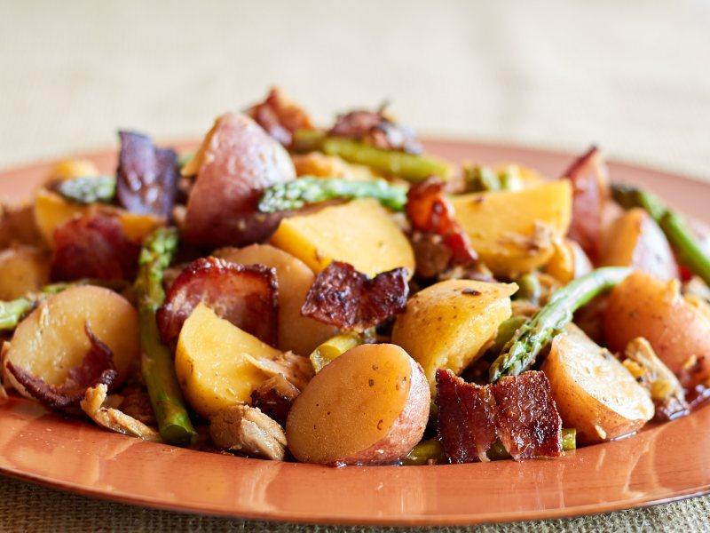 Tangy Chicken & Potato Salad