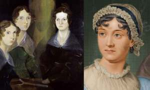 Bronte sisters and Jane Austen web banner