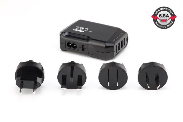 Kogan 6.8A USB Travel Charger
