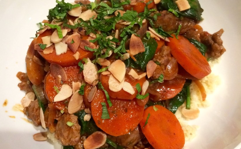 HelloFresh - Lamb Tagine Served