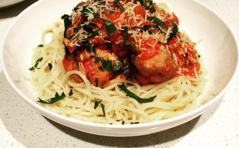 HelloFresh – Italian Spaghetti & Meatballs