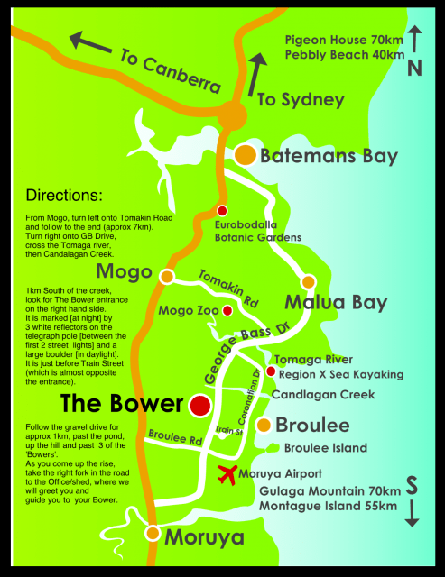 How to find The Bower