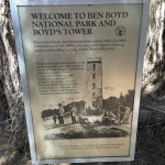 Boyd's Tower - Information Sign