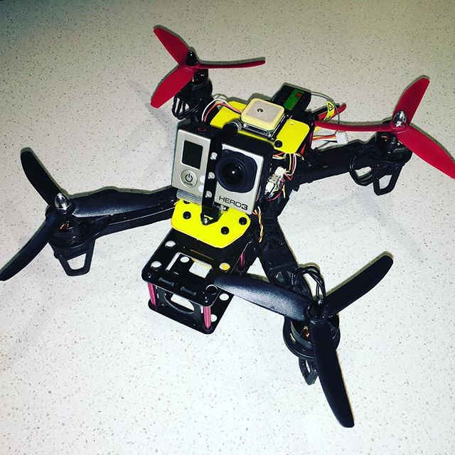 DIY Quadcopter rebuilt again!