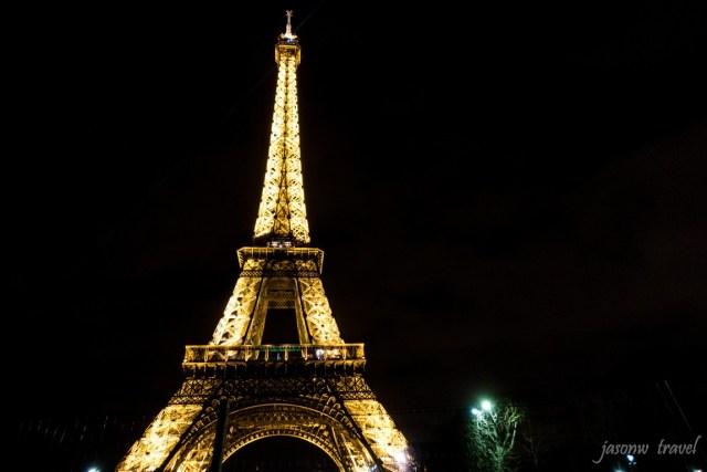 Tour Eiffel 巴黎鐵塔夜景