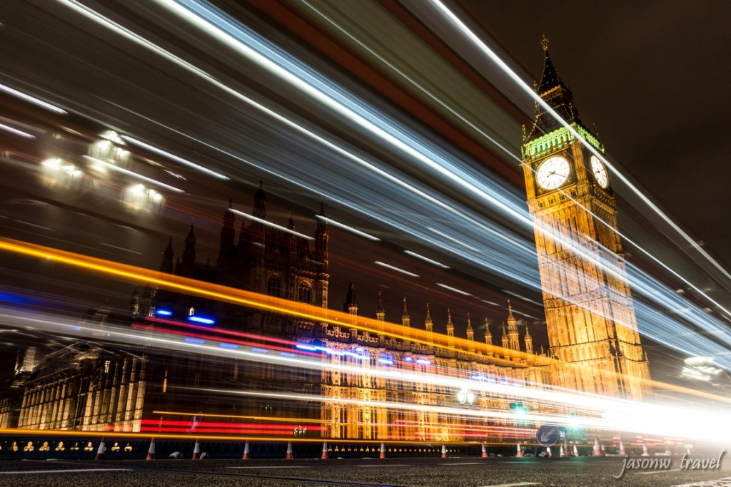 Palace of Westminster Night View 西敏宮夜景