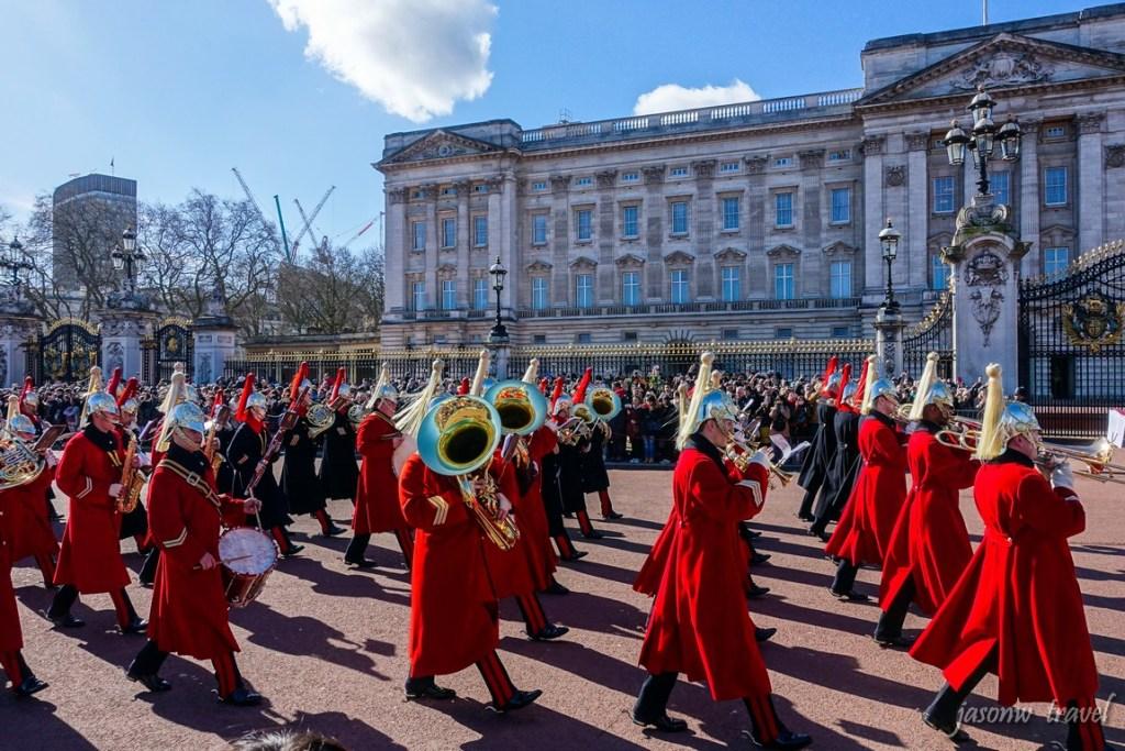 Buckingham Palace 白金漢宮衛兵交接