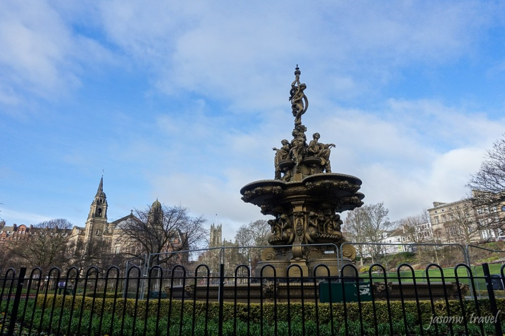 Edinburgh Princes Street Gardens 愛丁堡王子街公園