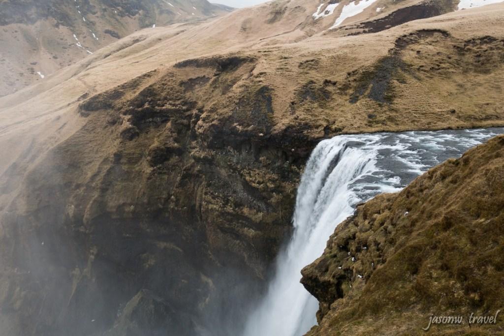 冰島Skógafoss瀑布