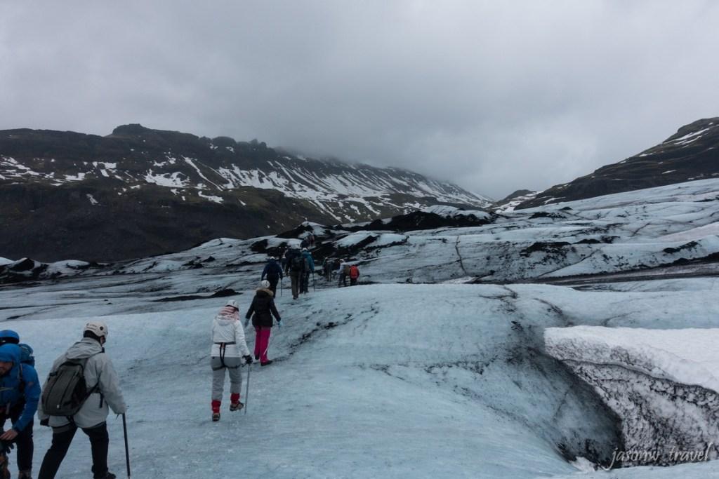 冰島 Iceland Sólheimajökull Glacier 冰川