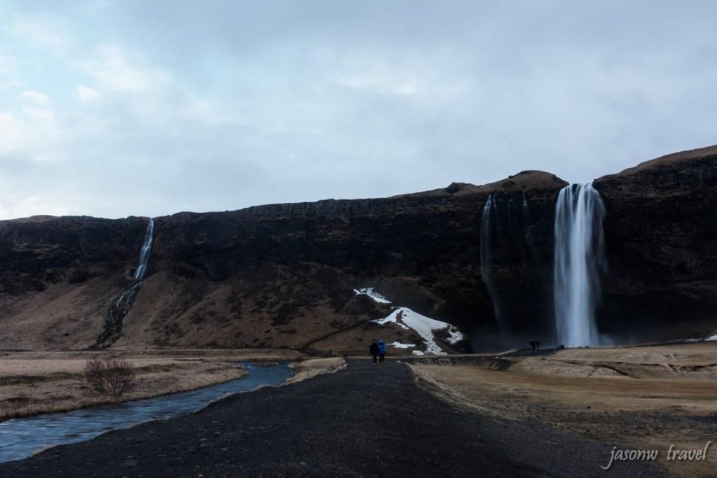 冰島 Iceland Seljalandsfoss 瀑布