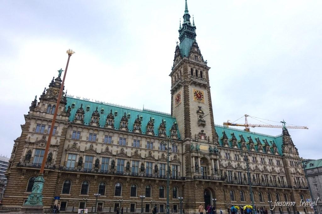 Hamburg Rathaus 漢堡市政廳