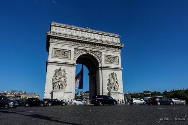 Arc de Triomphe 凱旋門