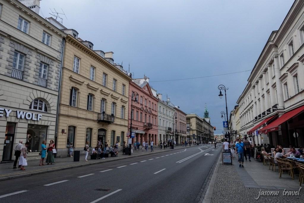Nowy Świat 華沙新世界街