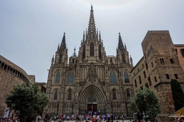 Catedral de Barcelona 巴塞隆拿主教座堂