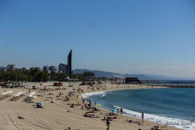 Barcelona Beach 巴塞隆拿沙灘