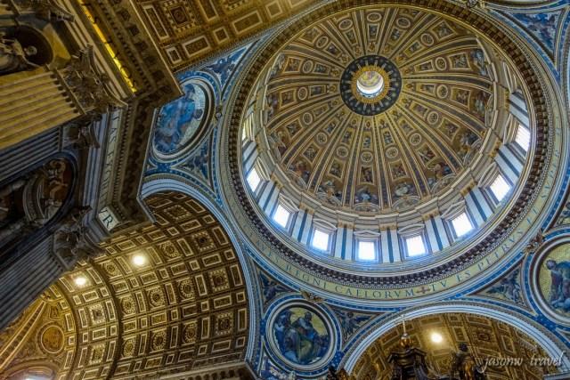 聖伯多祿大殿內部 St. Peter's Basilica Inside