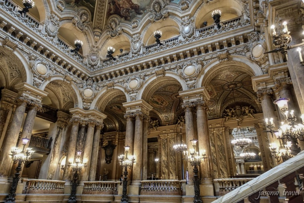 Palais Garnier Inside 巴黎歌劇院內部