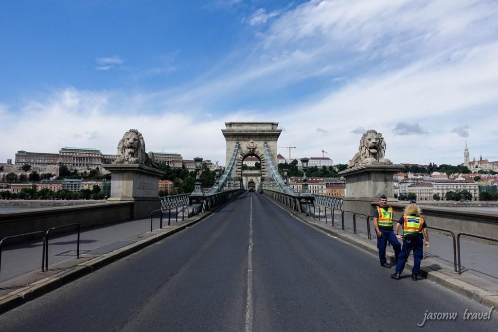 Budapest Széchenyi lánchíd 布達佩斯塞切尼鏈橋