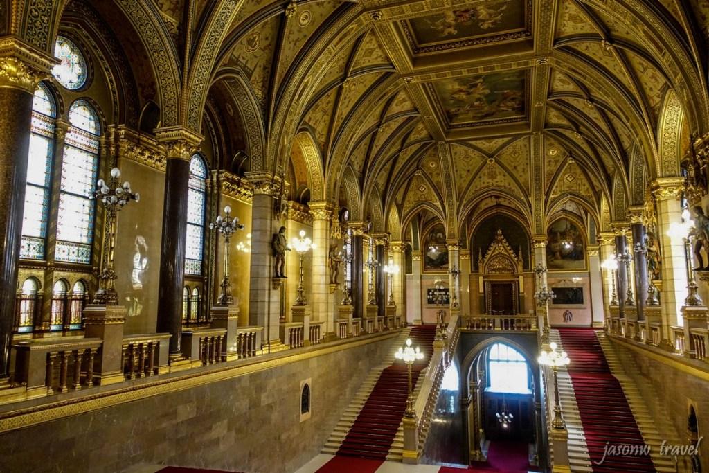 Budapest Országház Inside 布達佩斯國會大廈內部