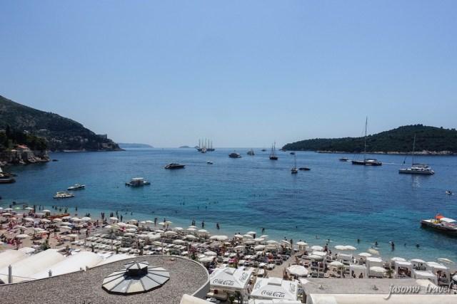 Dubrovnik Croatia Beach 克羅地亞 杜布羅夫尼克 沙灘