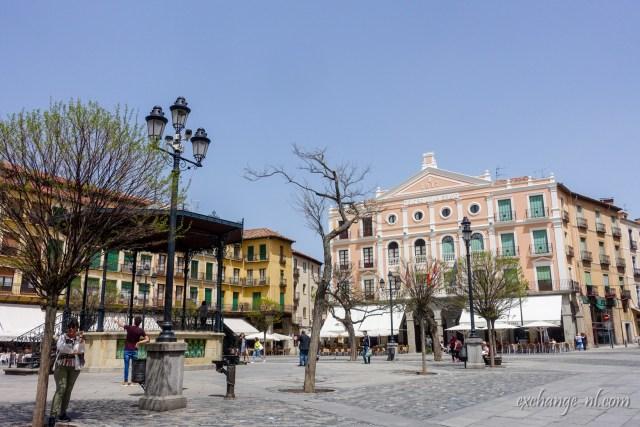 Plaza Mayor Segovia 塞哥維亞主廣場