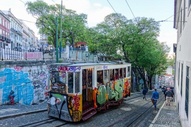 里斯本榮耀纜車 Lisbon Ascensor da Glória (Glória Funicular)
