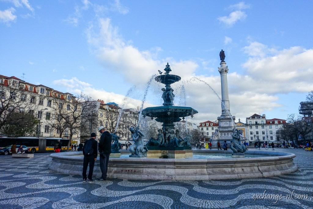 里斯本羅西烏廣場 Praça Rossio, Lisbon