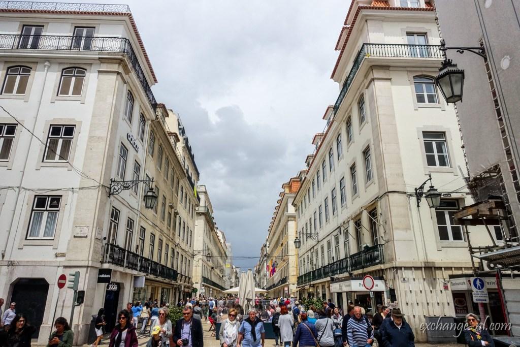 里斯本奧古斯塔街 Rua. Augusta, Lisbon