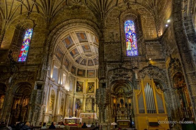 里斯本熱羅尼莫斯修道院內部 Inside of Mosteiro dos Jerónimos, Lisbon