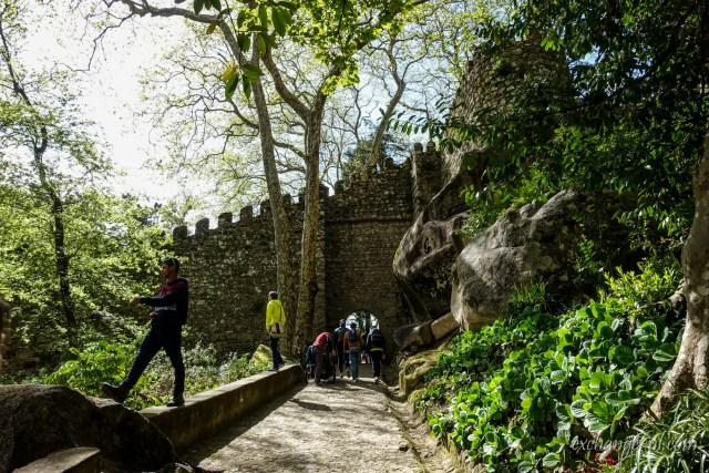 葡萄牙辛特拉摩爾人城堡 Castelo dos Mouros (Castle of the Moors), Sintra, Portugal