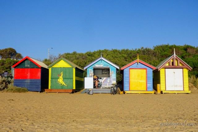 墨爾本布萊頓海攤彩色小屋 Brighton Bathing Boxes, Melbourne